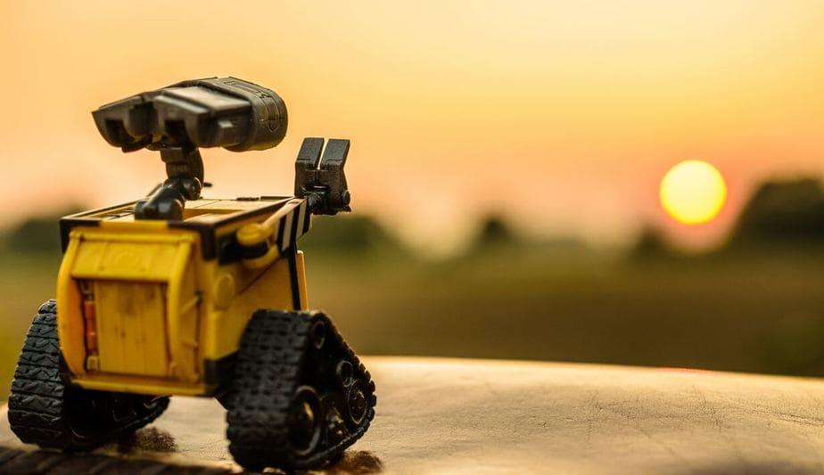 悶々として切ないロボット